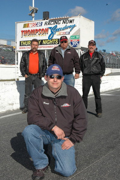 Kurt Vigeant Thompson Speedway TIS Modified Champion
