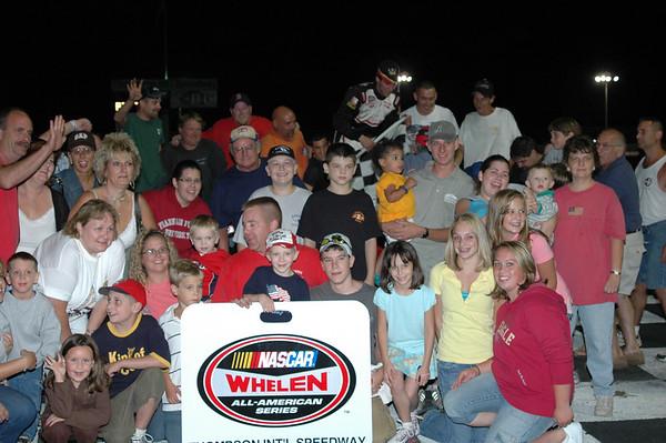 Thompson Speedway 8-30-2007 Victory Lane
