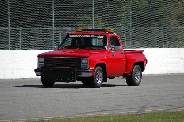 Thompson Speedway Push Trucks, Track Crew, Tow Trucks, Fire Crew